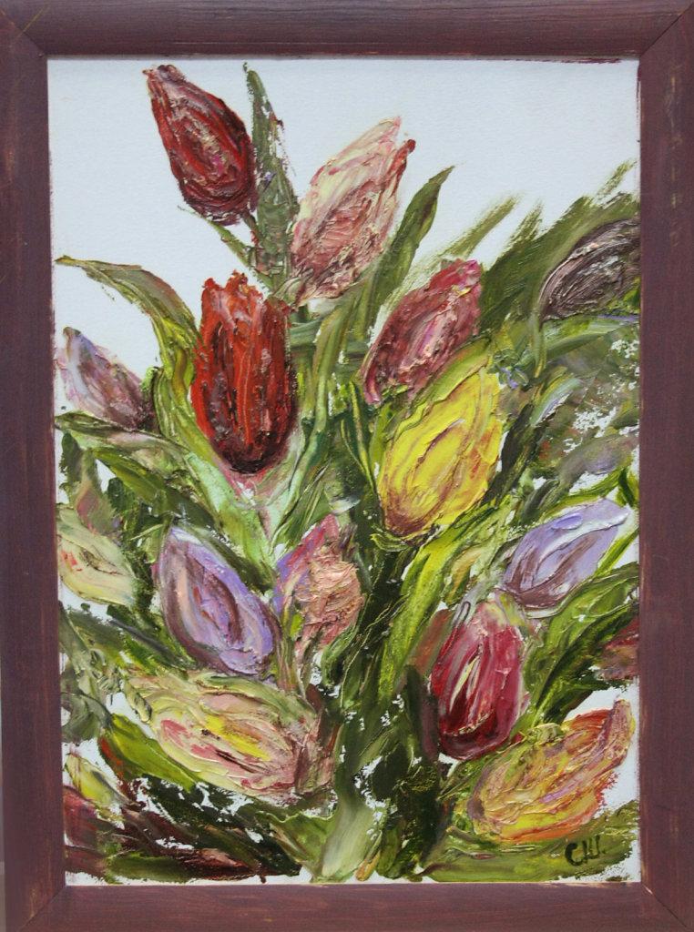Тюльпаны (диптих)